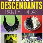 Throwing a Disney Descendants birthday party or Halloween party? These fun ideas are perfect for that. Plus great for a evil villains party too.