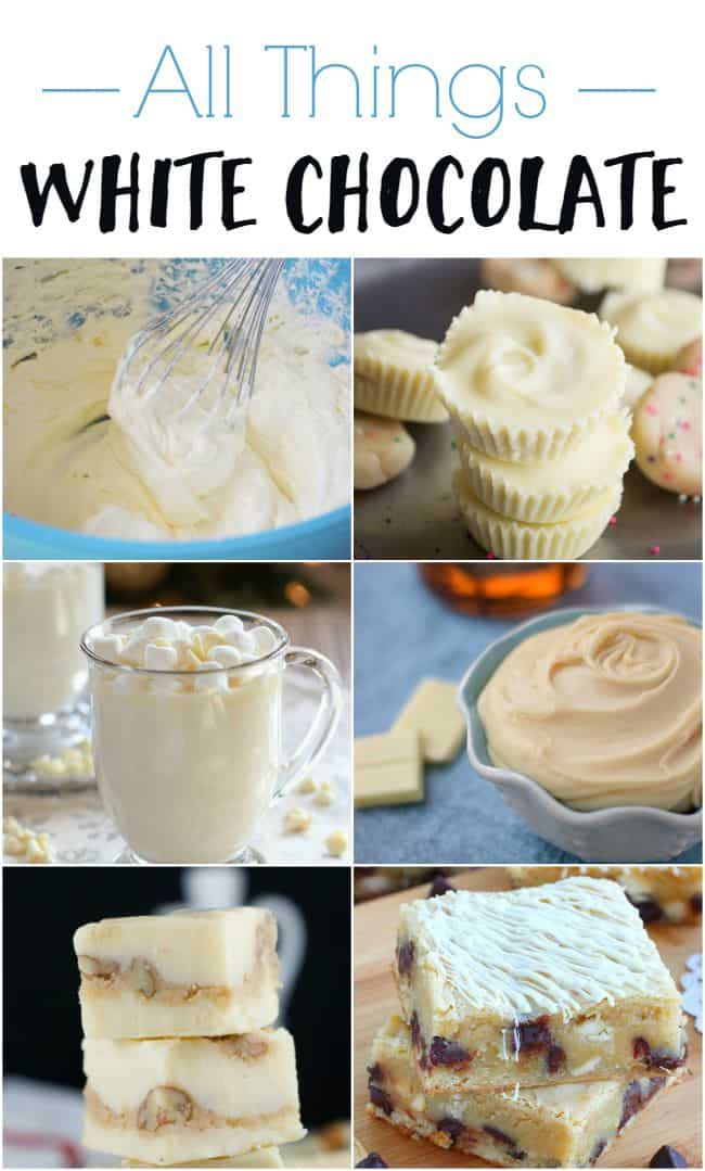 If you are a white chocolate lover then these awesome recipes are for you. From yummy truffles to delicious dip.