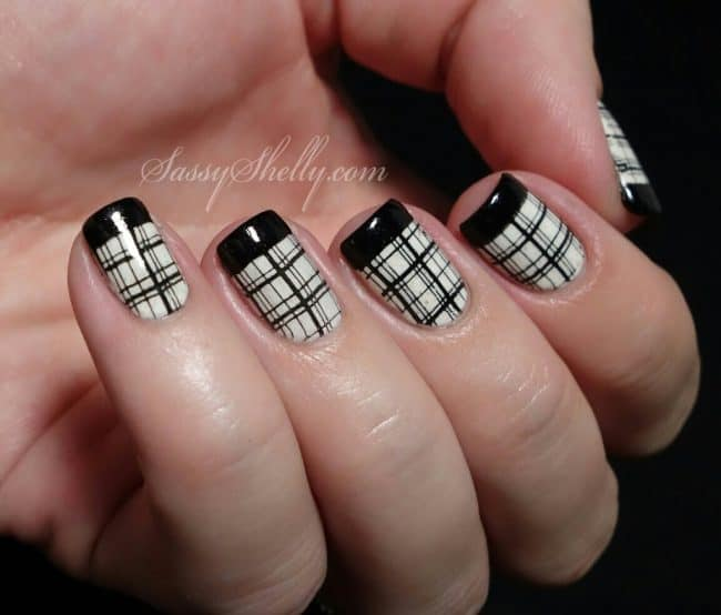 Plaid nail art designs if you are new to nail art design i think starting with these would be a good choice they are relatively easy prinsesfo Choice Image