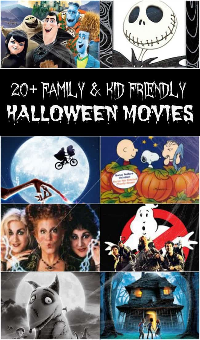 It is the final week before Halloween and you know you want to fit in all of those great spooky (yet not really) Halloween movies. Well, today I have 20+ awesome family and kid-friendly Halloween movies that are perfect for this week. Get your Halloween movie marathon on!!