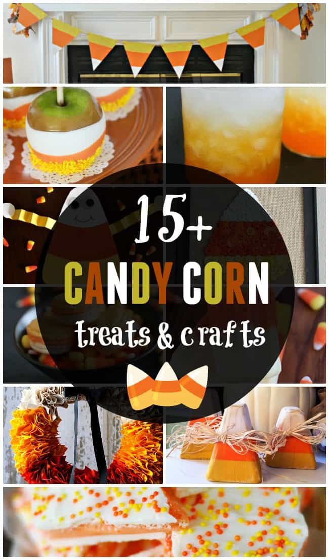 There are all sorts of ways to have candy corn whether it is a drink or cute craft. Check out all of these fun candy corn treats and crafts.