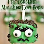These marshmallow Frankenstein's are perfect for any Halloween get together. Lots of fun to create with the kids.