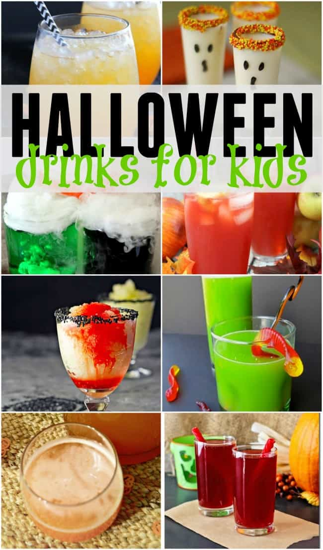No little monster will go thirsty at your party with these fun Halloween drinks for kids.