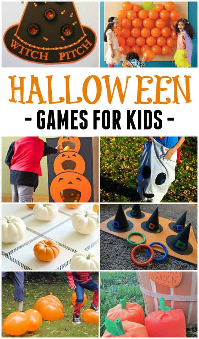 These really simple and not-too-scary Halloween party games for kids will help you host the best Halloween party ever!