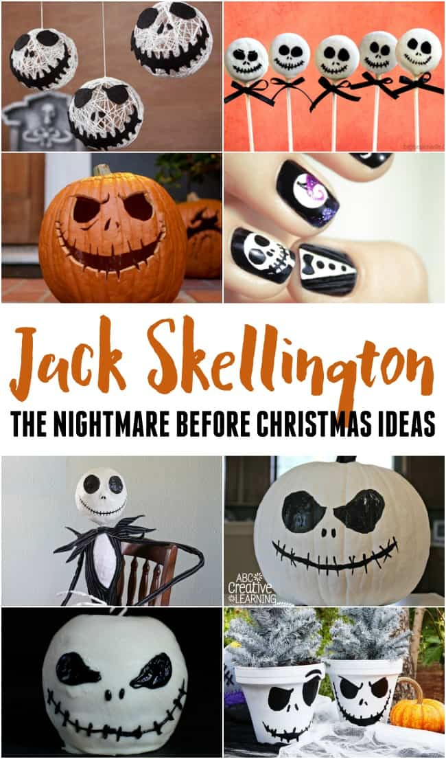 If you love The Nightmare Before Christmas then check out all of these fantastic Jack Skellington ideas