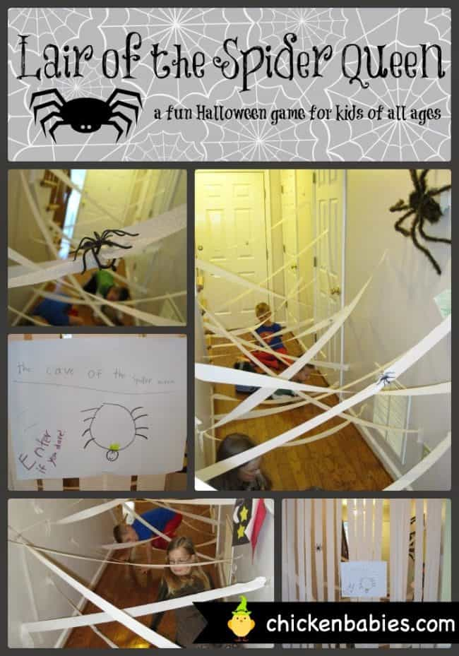 these really simple and not too scary halloween games for kids will help you