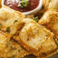 Baked Ravioli Appetizers