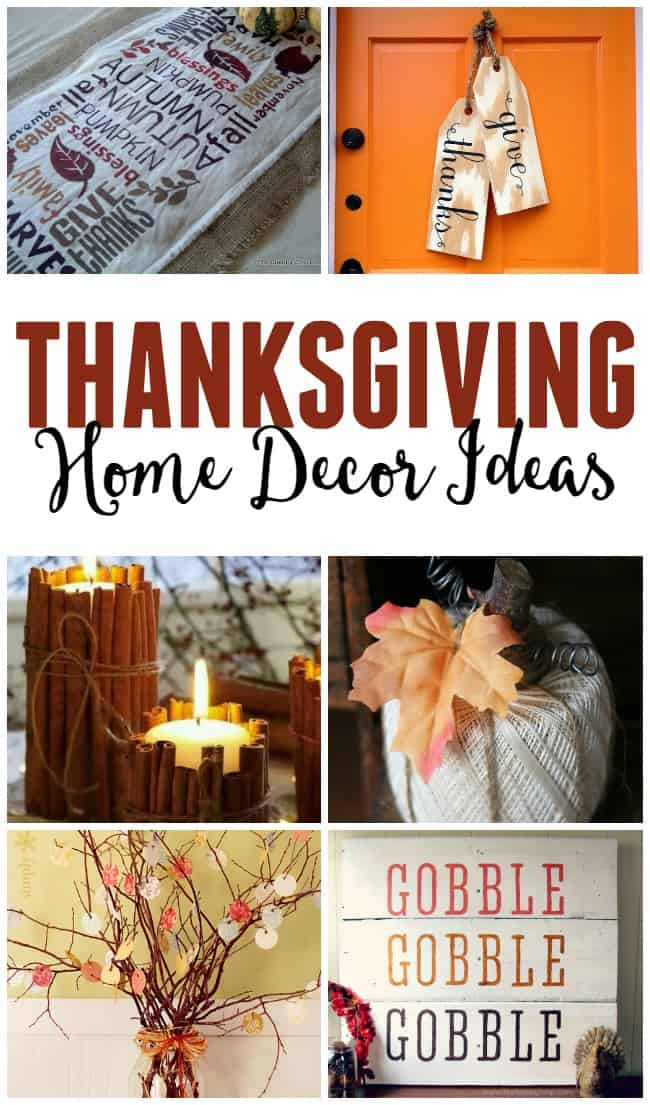 Thanksgiving home decor for Thanksgiving home ideas