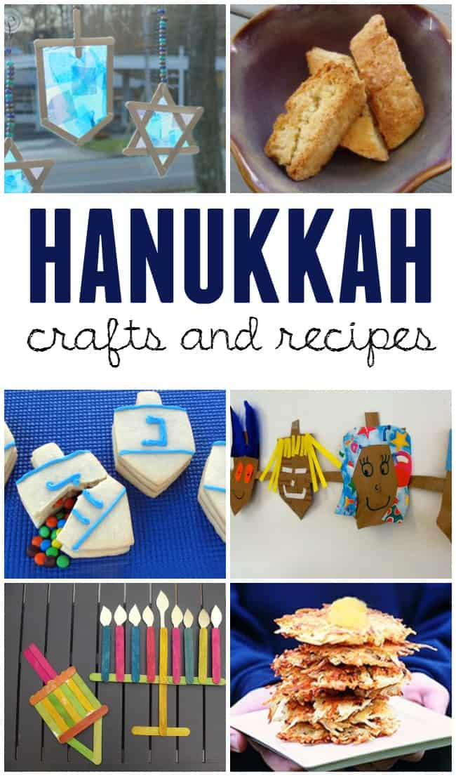 Light up your eight nights with these fun and festive Hanukkah crafts for kids and recipes.