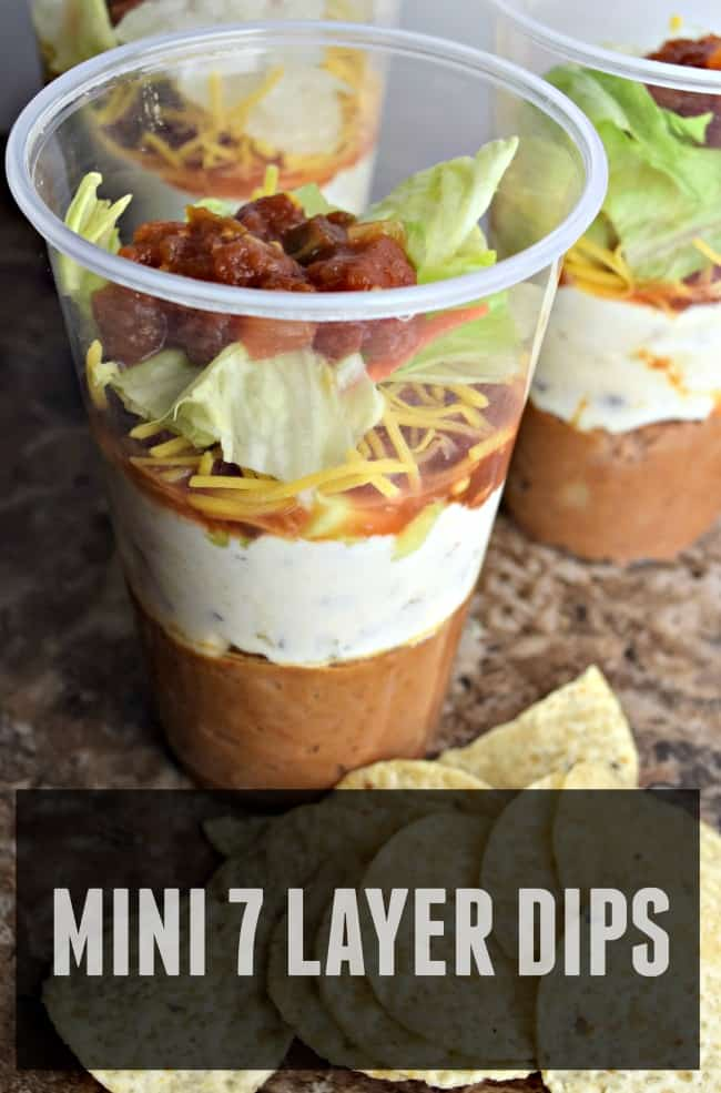 This easy 7 layer dip recipe is perfect for any game day get together. It is super easy to throw together in just 30 minutes.