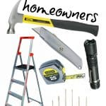 Don't start your home-ownership without these basic must have tools for homeowners.