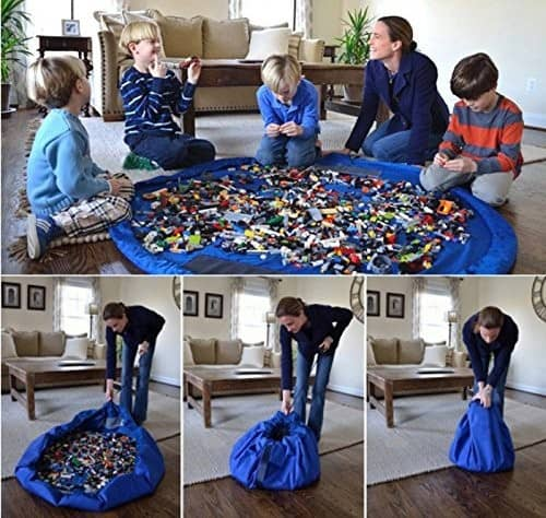 How to store Lego's in your home.