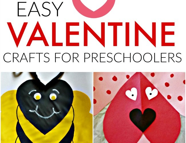 Easy Valentines Crafts for Preschoolers