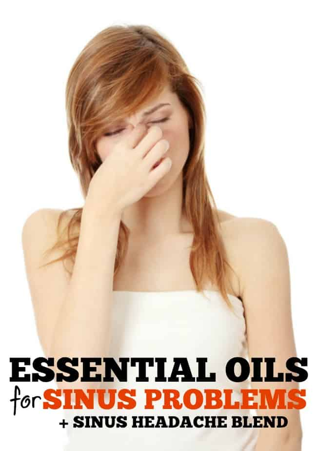 Using essential oils to help sinuses can relieve pain and pressure.These are the very best essential oils for sinus problems!