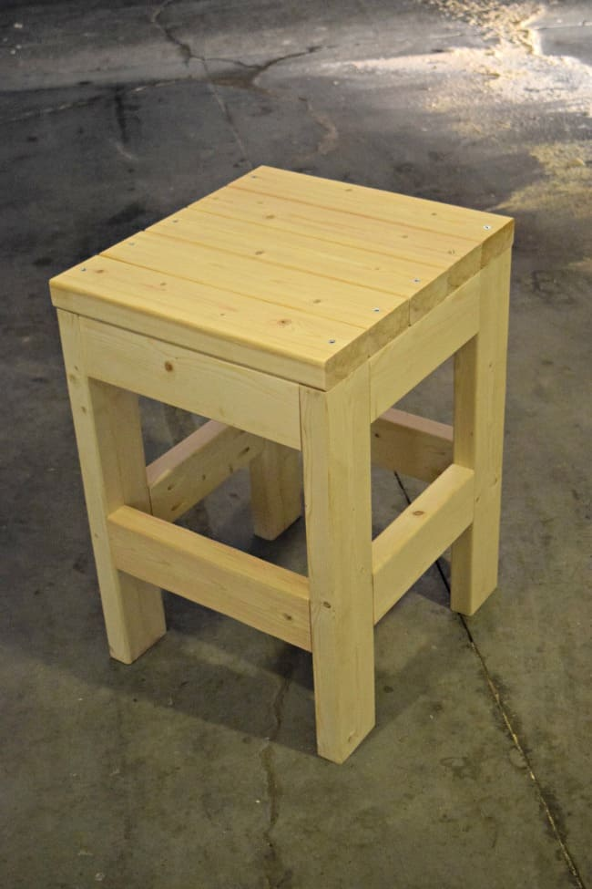 Diy Shop Stool Quick Amp Easy Tutorial Today S Creative