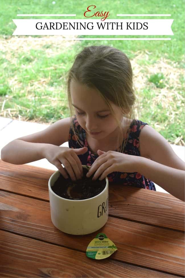 Get your kids outside this spring and summer with these easy gardening with kids tips to grow a garden fit for the whole family.