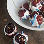 Celebrate the fourth (or Memorial Day) with these super simple 4th of July Cherry Bombs made with just a few ingredients.