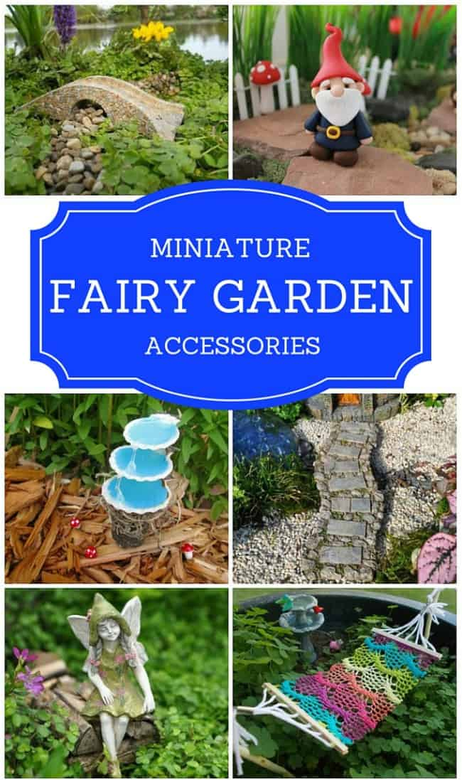 Create The Miniature Garden Of Your Dreams With These Adorable Fairy Accessories Featuring Accents