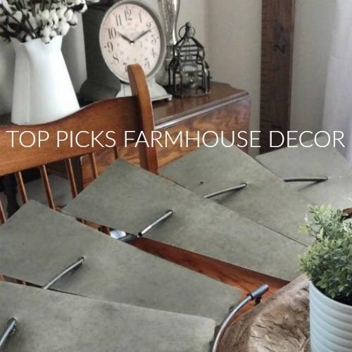 top picks farmhouse home decor