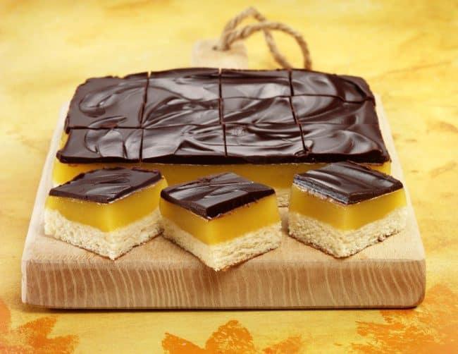 Chocolate Orange Jelly Squares