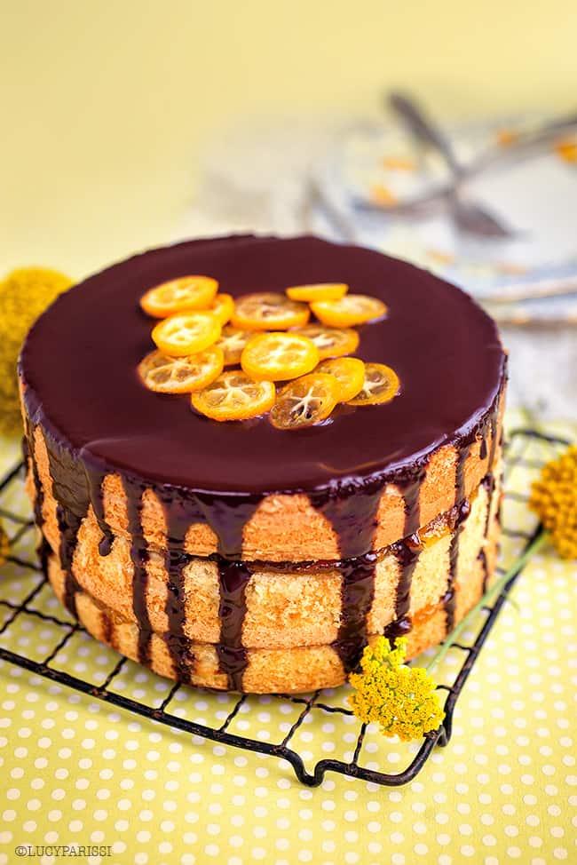Jaffa Style Layered Cake