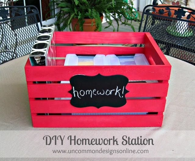 Portable-DIY-Homework-Station