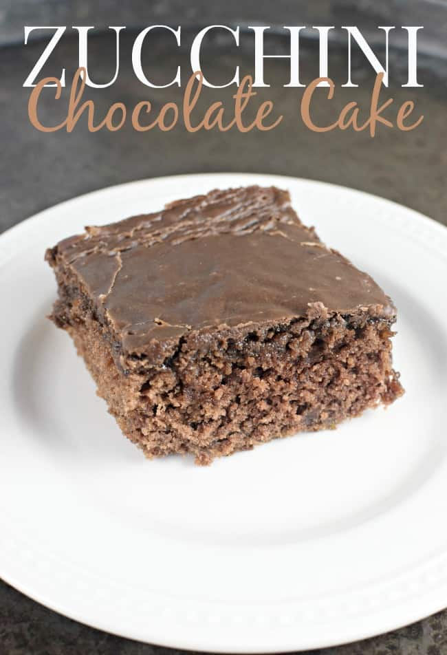 What is not to feel good about when Zucchini is an ingredient right? This Zucchini Chocolate Cake is super flavorful, fudgy, sweet and just plain delicious.