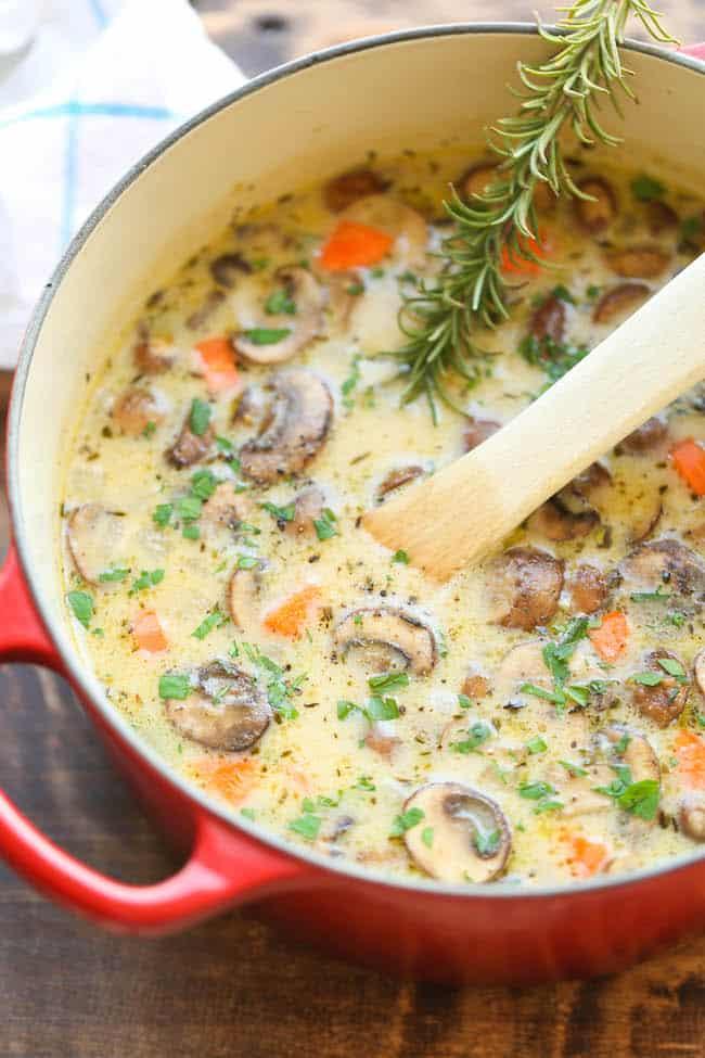 creamy-chicken-mushroom-soup