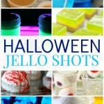 The perfect start to any adult Halloween party, these spooktacular Halloween jello shots. They are right up any of your guests' alley.