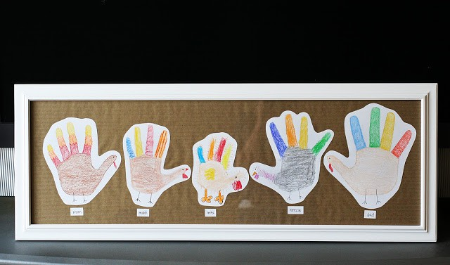 hand-print-turkey-family