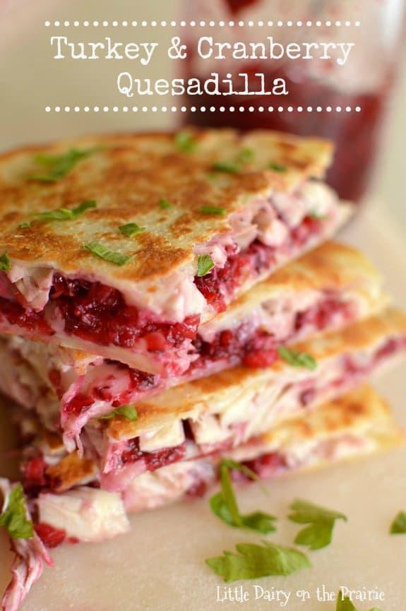 turkey-cranberry-quesadillas