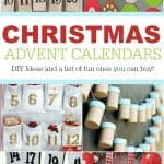Try one of these DIY Ideas to Countdown to Christmas. A Christmas Advent Calendar the whole family can enjoy from December 1st to 25th.
