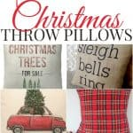 Accent your home this Christmas with these beautiful Christmas throw pillows. Don't miss out on getting your farmhouse favorites before they are gone.