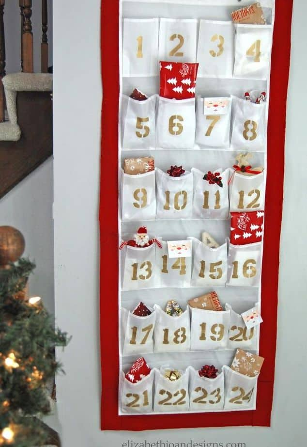 diy-advent-calendar-from-a-shoe-organizer