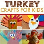 9 turkey-rific crafts for kids that are easy, kid-friendly and a lot of fun for the whole family. Keep all the little ones busy this Thanksgiving!