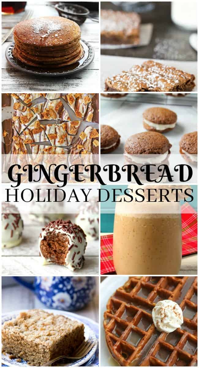 From pancakes to truffles, this gingerbread holiday desserts post has everything you need to make the perfect Christmas party recipe.
