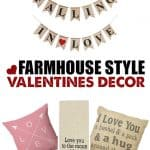 Looking for some new Valentine decor to go with your already established Farmhouse look? Shop these favorites in Farmhouse Valentine Decor.