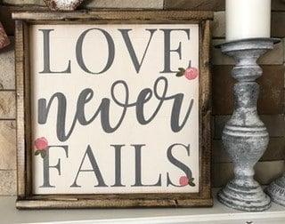 Valentine's Day Wooden Signs
