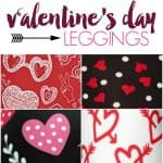 Look super cute this Valentine's day with these valentines leggings. Hearts, love notes, and more, you don't want to miss them!