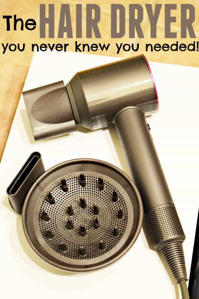Learn more about the best hair dryer I have ever tried! Spend 30 minutes drying your hair? How does getting it down to 5 minutes sound?