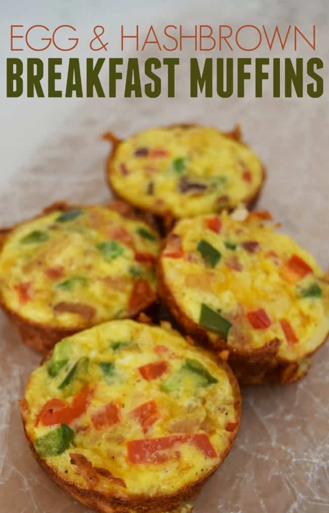 Looking for a simple, yet tasty breakfast dish that will feed a whole crowd? Then look no further these breakfast muffins are delish.