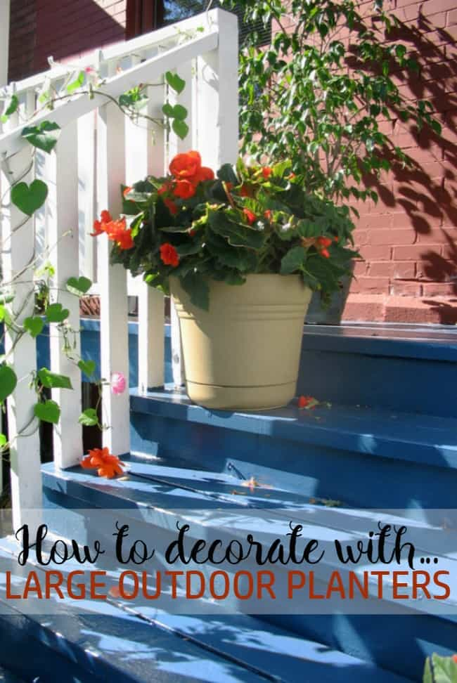 Want to learn how to decorate your patio or deck with large outdoor planters? Check out these beautiful DIY builds and handy tips for your planting needs.