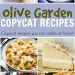 Learn to to make their soup, salad, breadsticks and more from the comfort of your own home with these delicious Olive Garden Copycat Recipes.