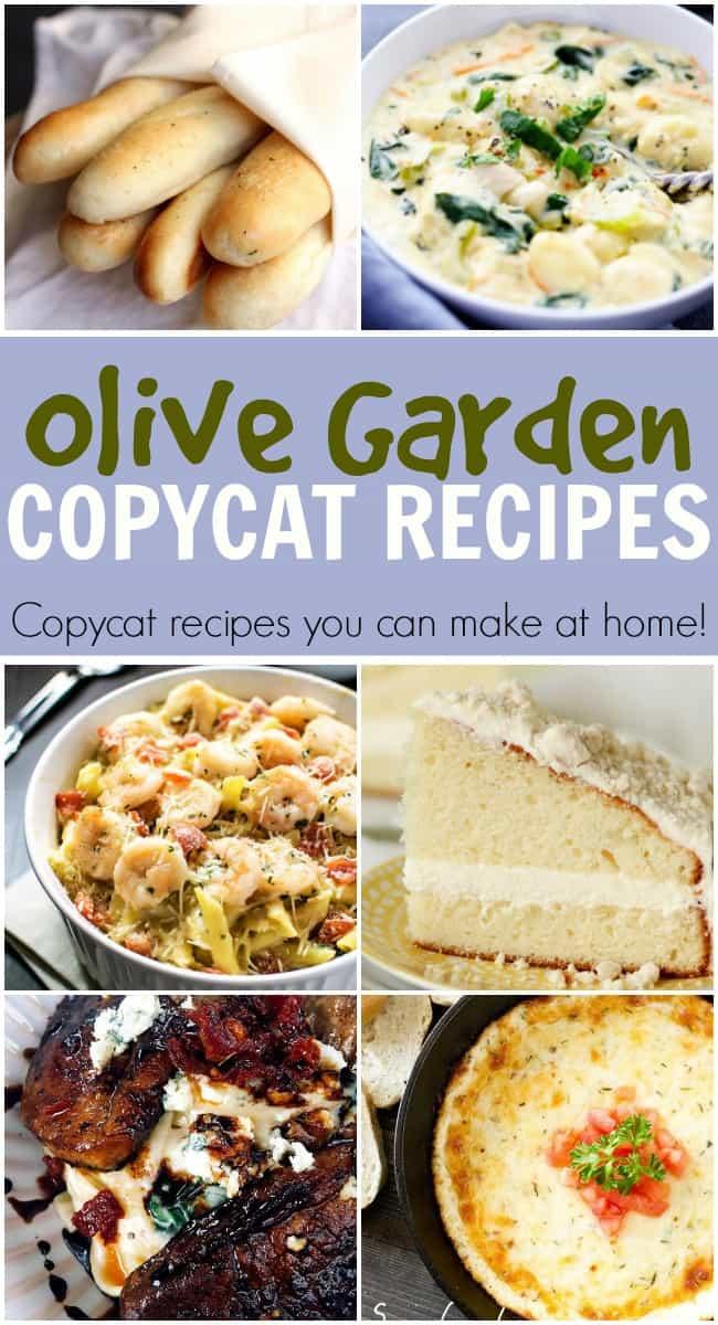 Olive Garden Copycat Recipes