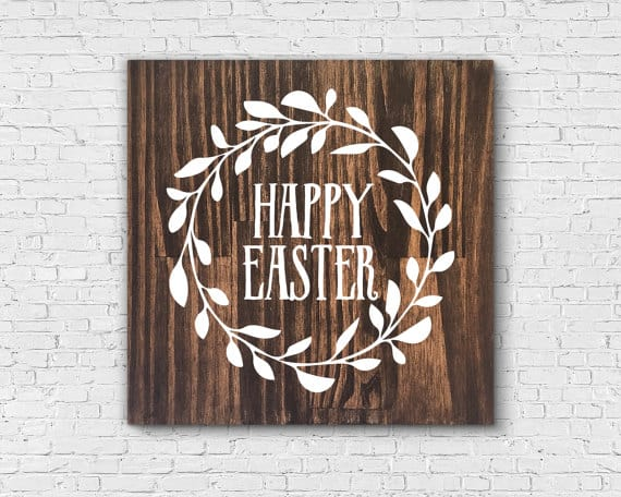 Easter Wooden Signs