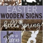 Looking for some super cute Easter home decor? How about adding a fun touch with one of these Easter wooden signs from faith to bunnies.