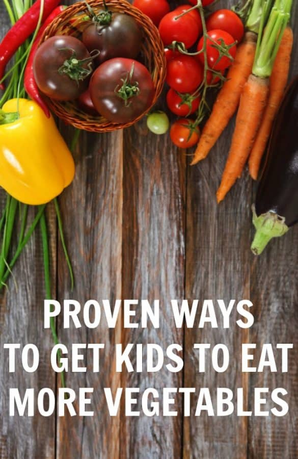 Struggling to get your child to eat more healthy foods? Check out these 5 proven ways to get kids to eat more vegetables.