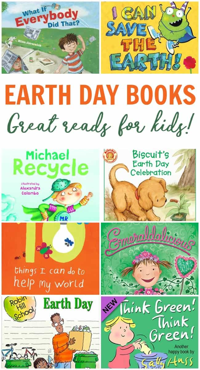Looking for a fun way to teach your kids about our great Earth for this upcoming Earth Day? Here are the top Earth Day books for kids we are loving.