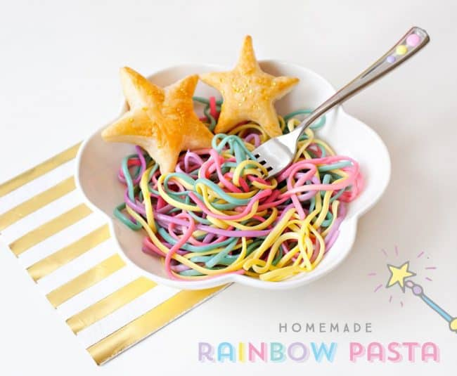 Rainbows, party favors, and unicorn horns galore! Use one or all of these unicorn party ideas for throwing a dazzling party of mythical proportions.