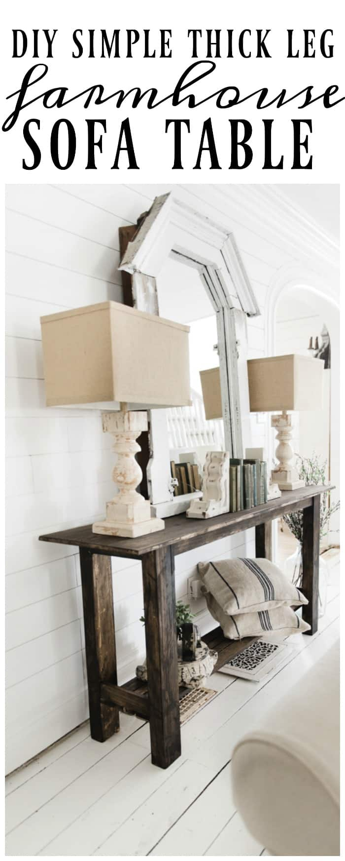 Diy Console Table Sofa Table Ideas And Designs